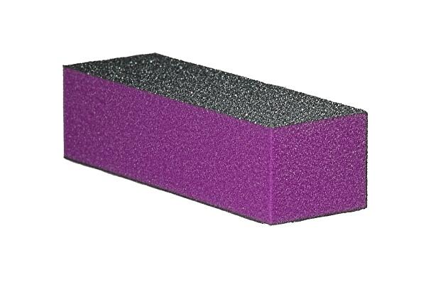 Blok polerski trójstronny – fioletowy 60/100