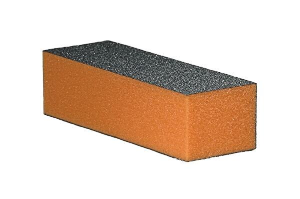 Blok polerski trójstronny – pomarańczowy 100/180